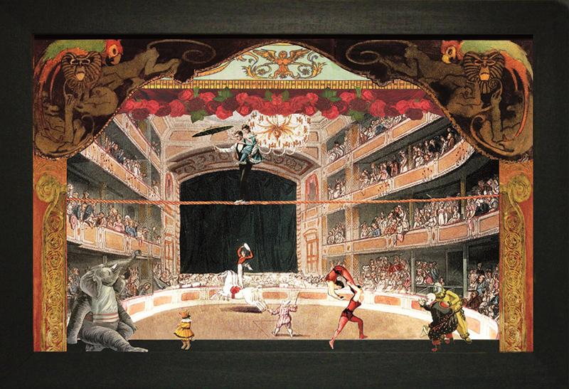 Il-circo-delle-scimmie-–-Teatrino3D.-Collage-in-scatola-di-ayous-tecnica-mista-335-x-27-x-8_b